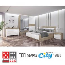 Спален комплект Сити 7014 От Мебели Домино