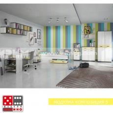 Модулна композиция Мики 5 От Мебели Домино
