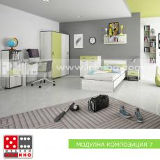 Модулна композиця Мики 7 От Мебели Домино