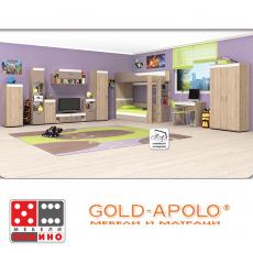 Модулна система за детска стая Крис От Мебели Домино