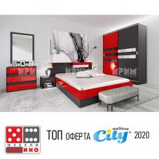 Спален комплект Сити 7019 От