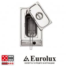 Фритюрник за вграждане PVS 30 F X От Мебели Домино