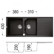 Кухненска мивка Серия TEKNO 500 От