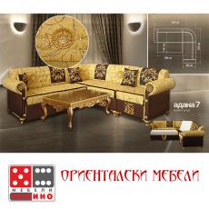 Ъглов диван с релакс механизъм Hera От Мебели Домино