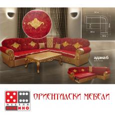 Ъглов диван с релакс механизъм Demetra От Мебели Домино
