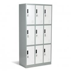 Метален шкаф Carmen CR-1234 J LUX От Мебели Домино