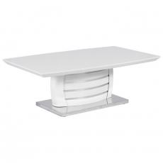 Стъклена маса за кафе Nina P От Мебели Домино