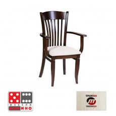 Трапезен стол Carmen 370 От Мебели Домино