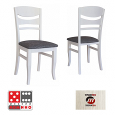 Трапезен стол Carmen 317 От Мебели Домино