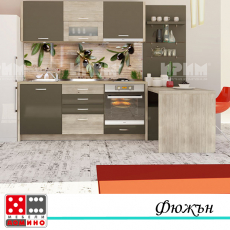 Кухня по проект Олива мини От Мебели Домино