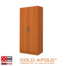 Двукрилен гардероб Аполо 1 От Мебели Домино
