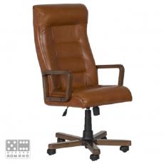 Президентски стол Carmen Royal Wood От Мебели Домино