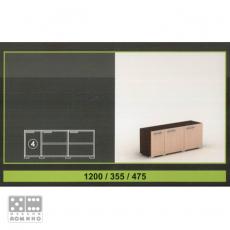 Модул 4 от система Севиля От Мебели Домино