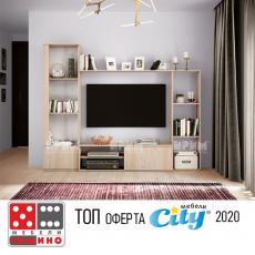 Холна секция Сити 6022 От Мебели Домино