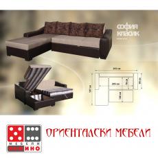 Холов ъгъл София Класик От Мебели Домино