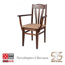 Трапезен стол Лале с подръчници От Мебели Домино