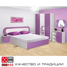 Спален комплект Виолета От Мебели Домино