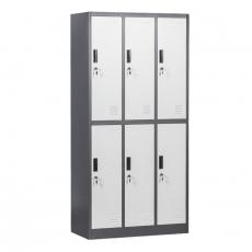 Метален шкаф Carmen CR-1267 J От Мебели Домино