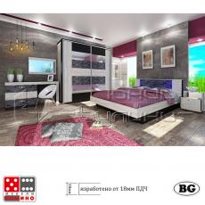 Спален коплект Комо От Мебели Домино