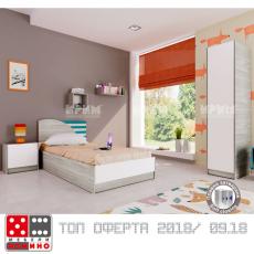 Детска стая Сити 5009 От Мебели Домино