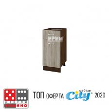 Кухненски модул Сити Б131 От Мебели Домино