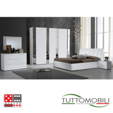 Италианска спалня Вивиан Париж От Мебели Домино